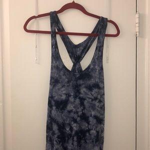 Gap tie dye blue dress